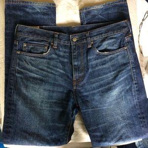 J Crew 770 jeans 32/30 Kaihara Denim